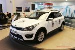 Новогодний праздник и презентация KIA Rio X-Line в А.С.-Авто