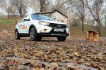 Тест-драйв Lada Vesta SW Cross 53