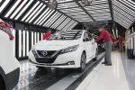Завод Nissan Leaf 2018 01