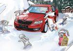 Зимняя сервисная акция ŠKODA – выгода до 50%