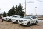 Внедорожный тест-драйв Toyota Land Cruiser's Land в Волгограде