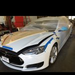 Tesla Model S лимузин 2017 05