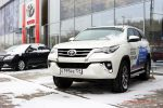 Тест-драйв Toyota Fortuner 2018 25