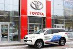 Тест-драйв Toyota Fortuner 2018 26