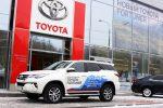 Тест-драйв Toyota Fortuner 2018 27