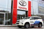 Тест-драйв Toyota Fortuner 2018 28
