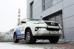 Тест-драйв Toyota Fortuner 2018 30