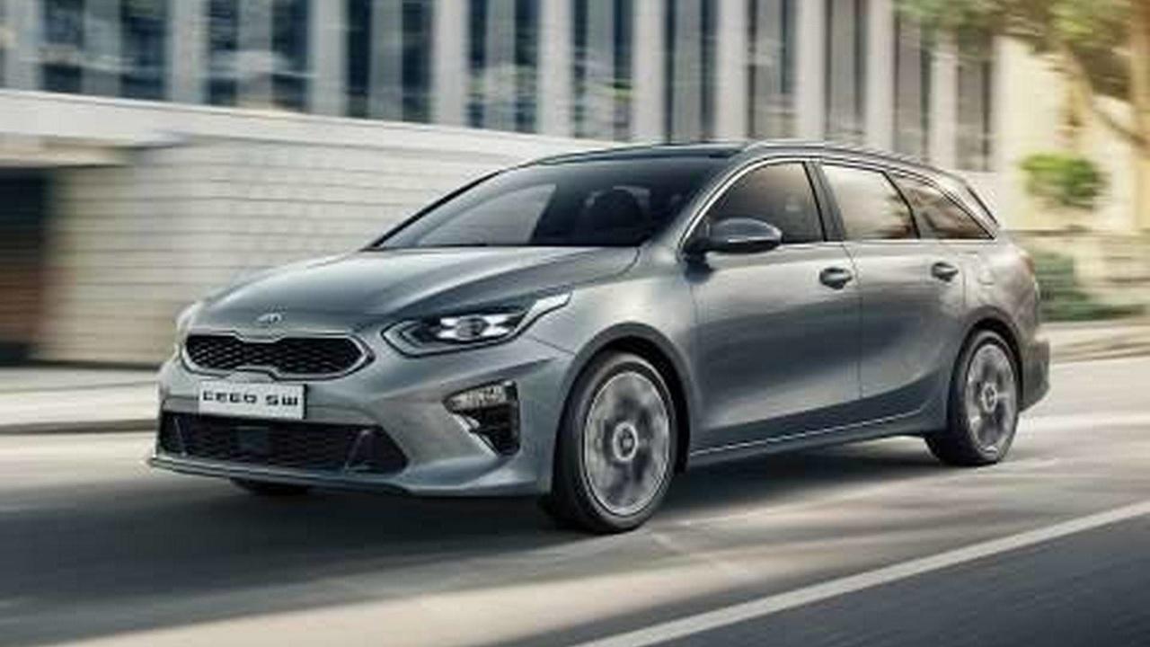 Новый универсал Kia Ceed Sportswagon показали на официальных фото