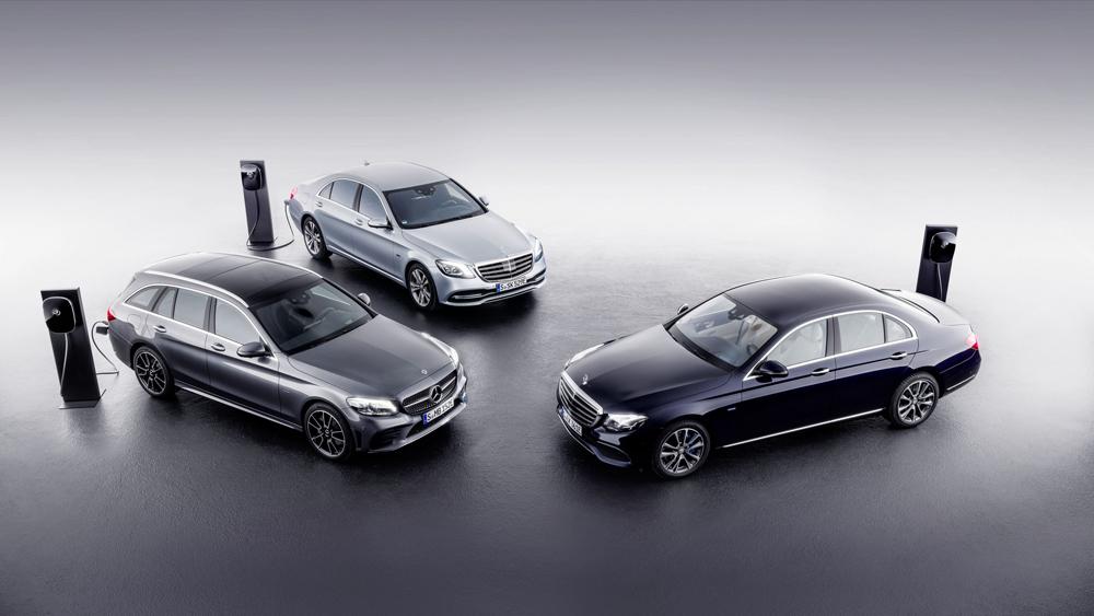 Новые гибриды Mercedes C- иE-Class с агрегатом надизеле