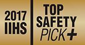 Top Safety Pick+ в 2017