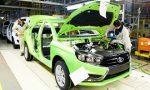 В Ижевске остановили производство автомобилей LADA Vesta