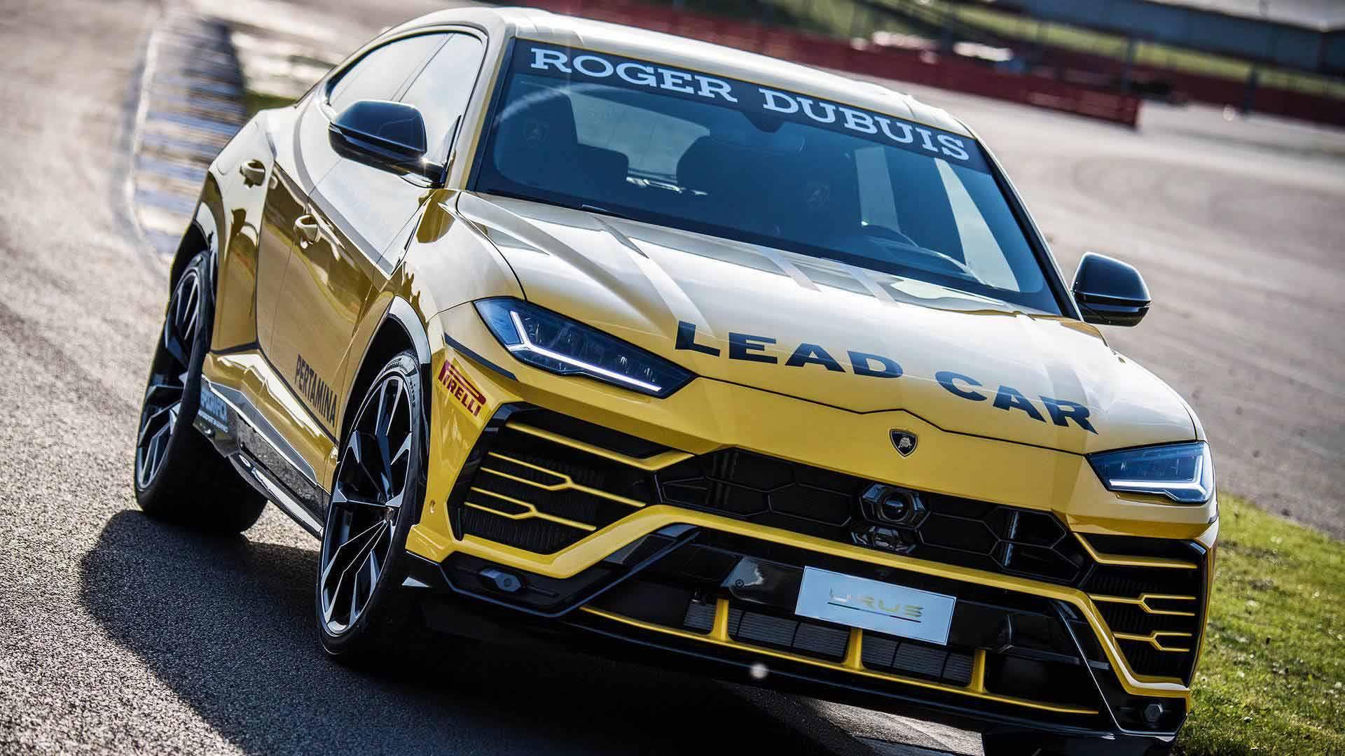 Lamborghini представила гоночный кроссовер Urus Super Trofeo Europe