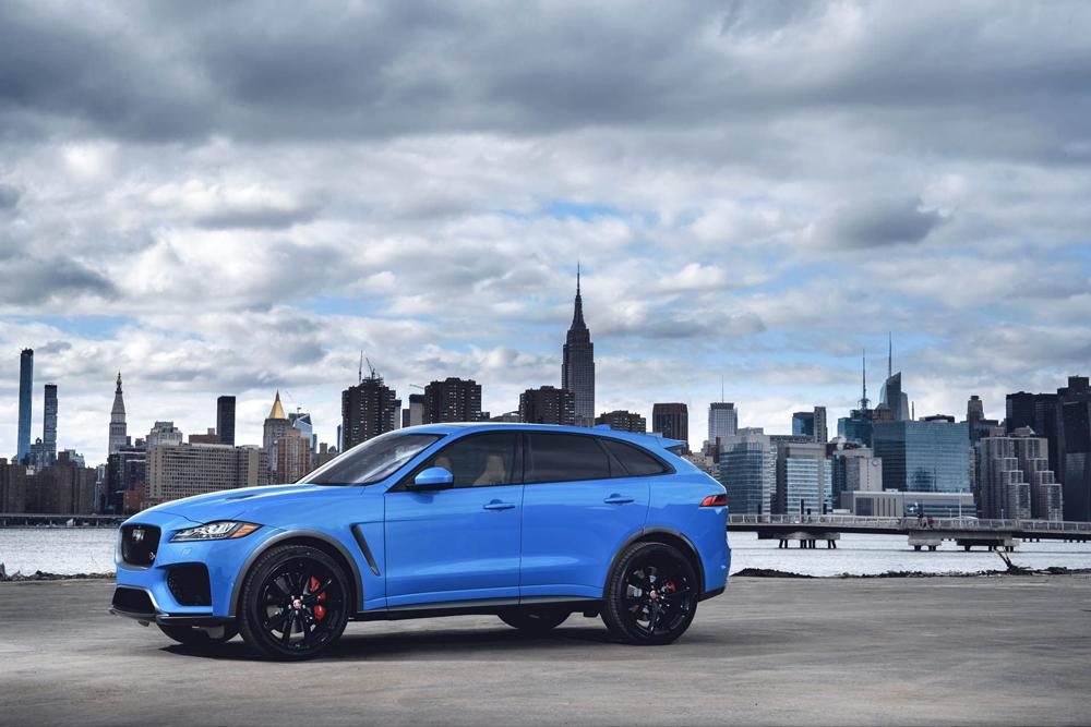 Lister Cars сделает Jaguar F-Pace самым быстрым кроссовером вмире
