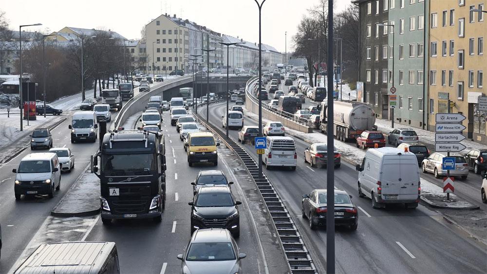 ВГамбурге ограничат проезд дизельных авто  с31мая