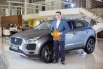 Презентация нового премиального кроссовера Jaguar E-PACE в Арконт