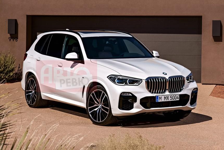 BMW › Кроссовер BMW X5 получился похожим на младших братьев