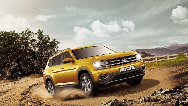 Volkswagen Teramont: Быстрый разгон и уверенное движение