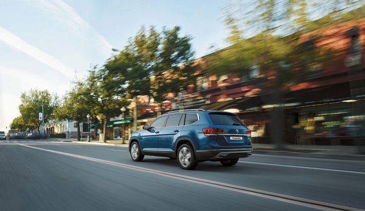 Volkswagen Teramont: смелый дизайн и высокая практичность