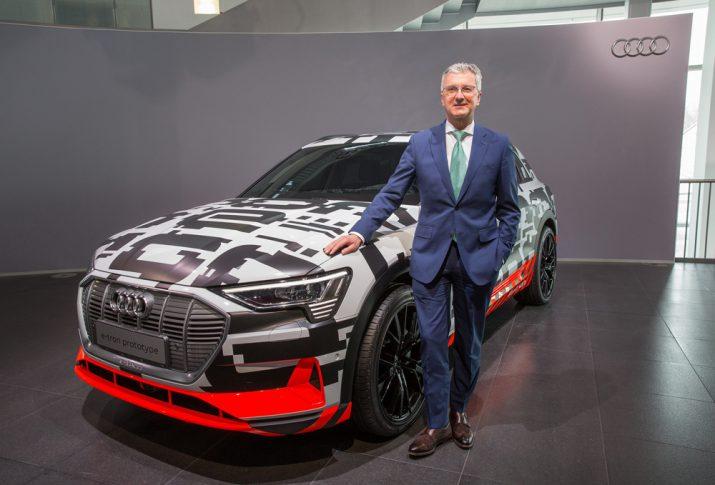 Генеральный директор Audi Руперт Штадлер