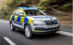 Полицейский Skoda Karoq готов бороться с преступностью в Великобритании