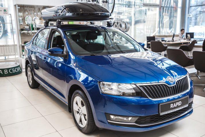 При своих габаритах ŠKODA RAPID впечатляет рекордной вместительностью салона и багажника