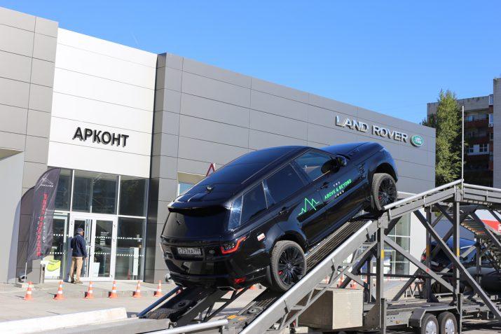 The Above & Beyond Tour - тест драйв Jaguar и Land Rover в Волгограде