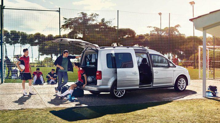 Volkswagen Caddy: широкие возможности оформления и персонализации
