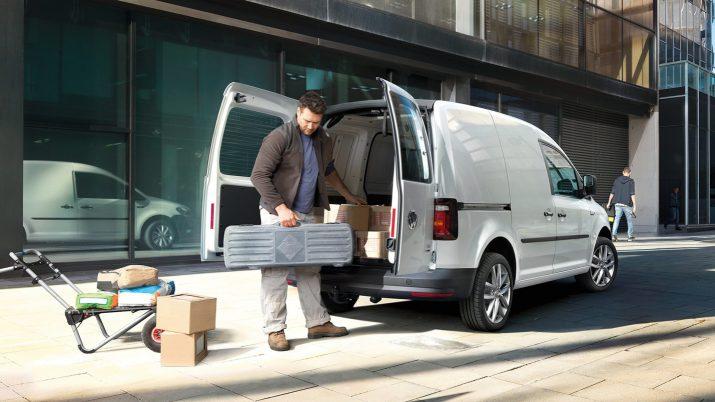 Volkswagen Caddy – удобный трансформируемый салон