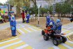 Компания KIA Motors открыла детский автокомплекс в Дзержинском районе