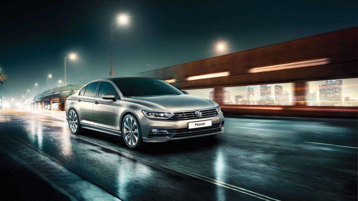Мотор в 180 л.с. и 7-ступенчатая АКП гарантируют хорошую управляемость Volkswagen Passat