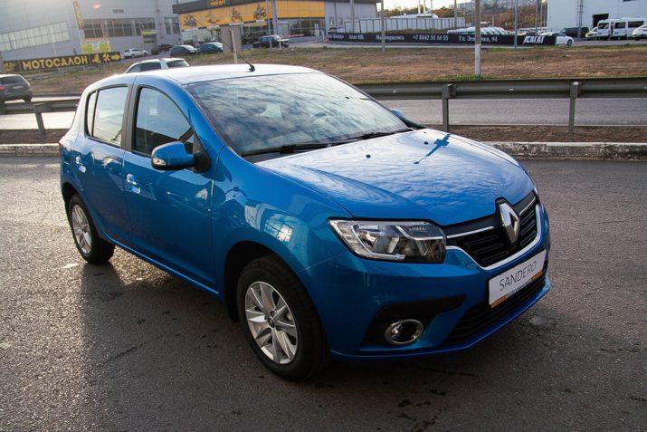 Renault Sandero – автомобиль с высокой остаточной стоимостью