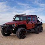 Hellcat оснастил Jeep Wrangler 6 × 6 2019 01