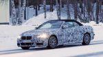 Немцы вывели на зимние тесты кабриолет BMW 4 Series