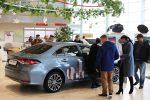 Презентация новой Toyota Corolla 2019 в Волгограде 05
