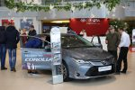 Презентация новой Toyota Corolla 2019 в Волгограде 08