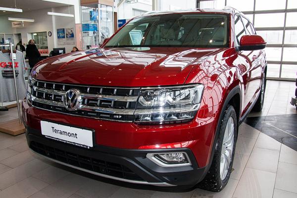 Teramont  - компании Volkswagen