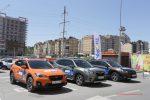 Выездной тест-драйв Subaru от компании АРКОНТ в ТРК Мармелад
