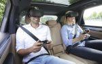 Виртуальная реальность для пассажиров от марки автомобилей Porsche