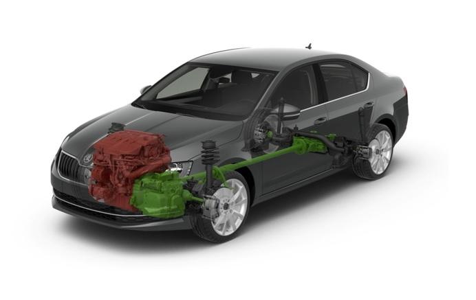Множество вариантов компоновки двигателя и коробки передач в Skoda Octavia – индивидуальный подход к каждому покупателю