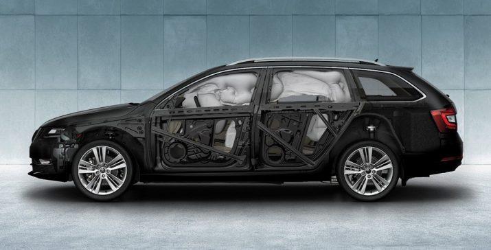 Skoda Octavia - безопасность водителя и пассажиров
