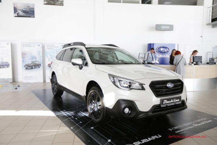 Презентация Subaru Outback Black Line Волгоград 2019 04