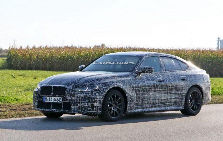 BMW i4 мощнее M3 и заряжается до 80% за 35 минут