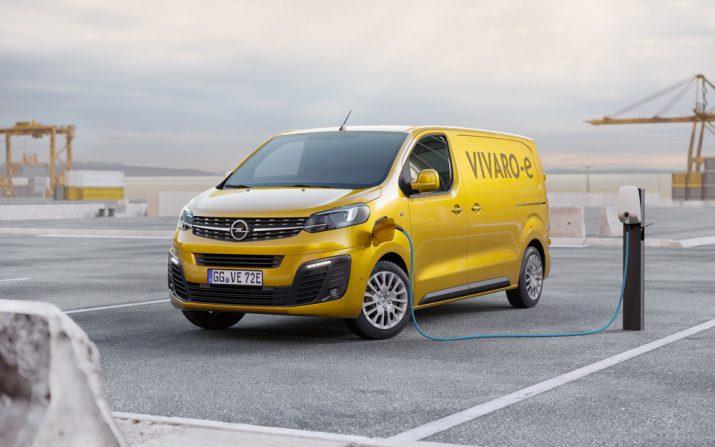 Электрический Opel Vivaro 2020 03
