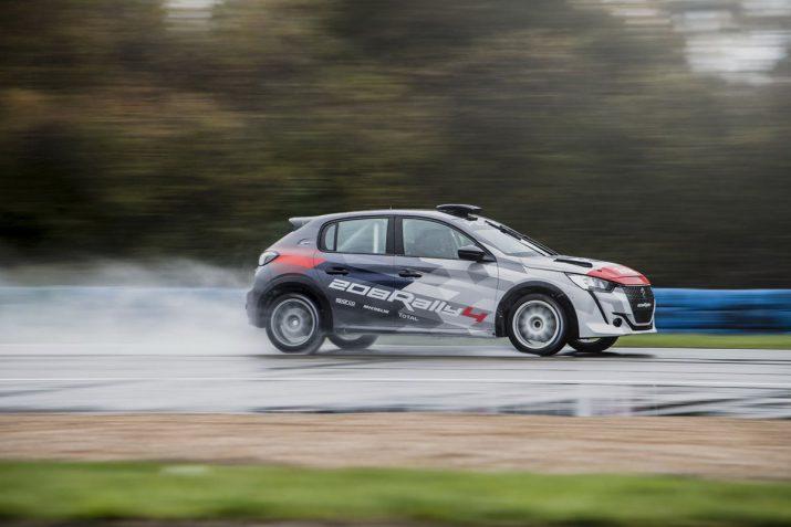 Peugeot 208 Rally 4 2020 развивает 205 лс 06