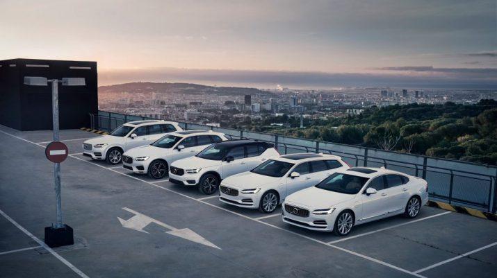 Покупатели гибридов Volvo смогут бесплатно заряжать свои автомобили в течение года