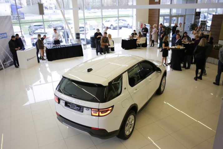 Презентация нового Land Rover Discovery Sport в Волгограде 2019 34