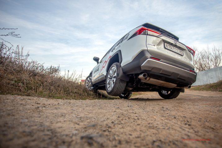 Тест-драйв Toyota RAV4 2019 Волгоград 22
