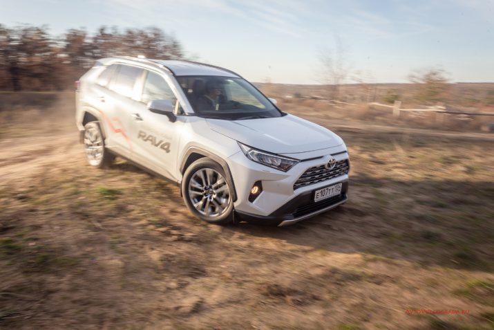 Тест-драйв Toyota RAV4 2019 Волгоград 25