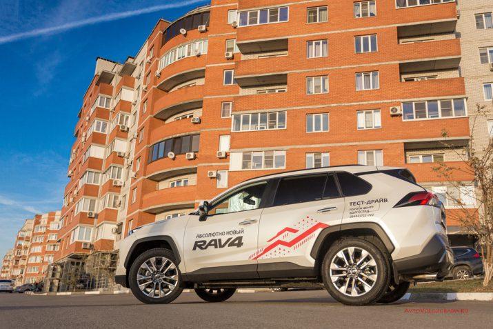 Тест-драйв Toyota RAV4 2019 Волгоград 38