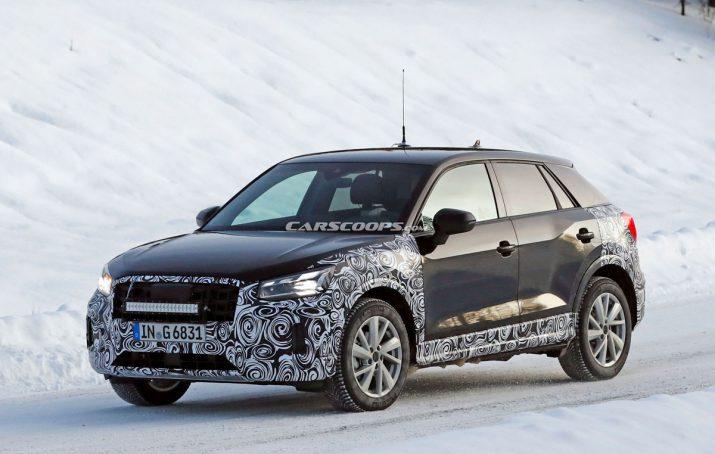 Обновленный Audi Q2 2020 05